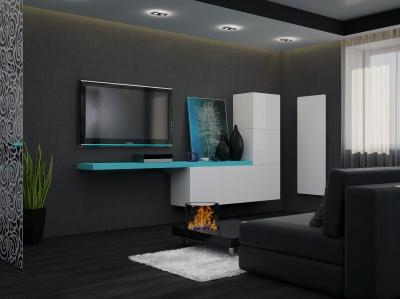 mobilier pentru un living minimalist